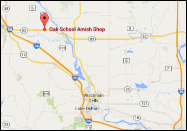 Amish Wisconsin Map.Amish Furniture Store Mauston Wisconsin